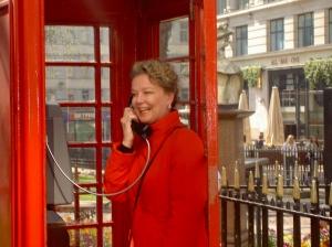 In Londen kun je wel leuk shoppen.Even bellen met mijn dochter