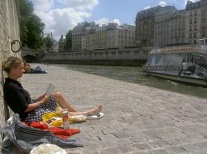 Lezen aan de Seine