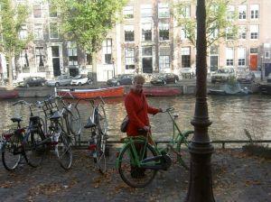 Mijn groene fiets en ik