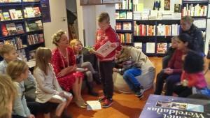 Voorlezen uit: 'Op kookavontuur' in De Nieuwe Boekhandel.
