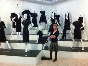 Had ik nu mijn 'petite robe noir' maar aangehad...
