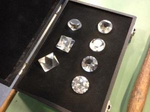 Diamonds are a girl's ...